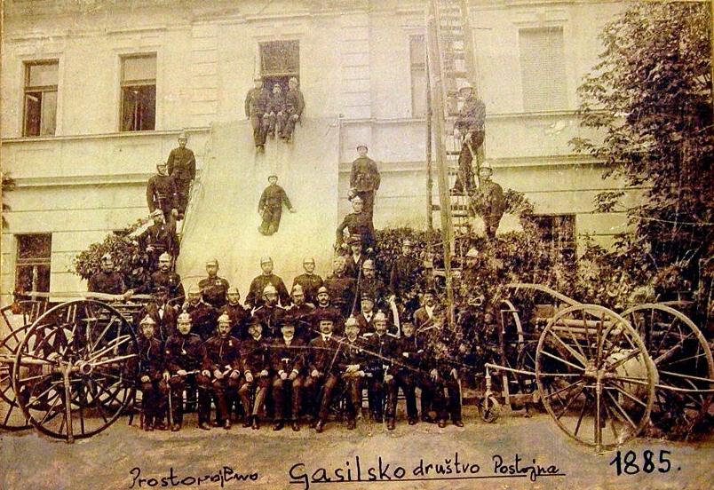 PGD Postojna, 1885